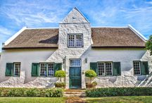 Ingenious Blend of Old and New! / HISTORIC PAARL HOME IN SOUTH AFRICA: This charming Paarl home in Paarl North with Tyree van Wyk is steeped in history and can be found in the Western Cape of South Africa.