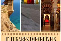 ESPANHA E PORTUGAL | / Roteiros e dicas da Espanha e de Portugal!