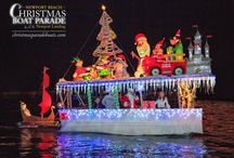 Newport Beach Christmas Boat Parade / The Annual Newport Beach Christmas Boat Parade is a festive tradition in Southern California! It's a must-see for the whole family!
