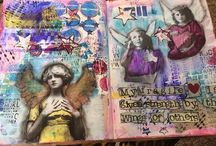 March 2016 MMMC #22 Winners / Winners of the March 2016 Mixed Media Monthly Challenge