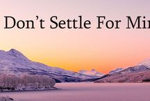 Don't Settle For Minimum Wage / NEVER EVER settle for minimum wage!  If you ever do, you have to have a really good reason why.  Let me ask you this, when did you decide to give up on your dreams?  Why did you decide to settle for the crumbs and not the feast?  When did you allow other people or circumstance to dictate who you are or what you can and cannot do or achieve?
