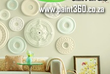Paint 360's Favourite Painted Walls / Here are some amazing examples of what YOU can do with Medal Paints at your Home or Office. Contractors Welcome. www.paint360.co.za