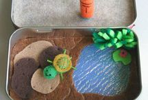 Everything Turtles / From toys to patterns to habitat ideas for real life turtles.