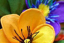 Kwiaty z papieru, bibuły