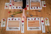 Mise en Place / Le collezioni di Infinito Design per la mise en place a tavola