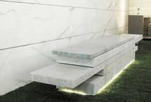PRODUCTS benches / outdoor design - marble