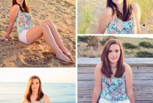 Beach Senior Photos