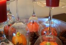 Fall Decorations/Home Decor / Inspirations for fall home decor and Halloween/Thanksgiving ideas