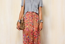 Fashion- maxi skirts