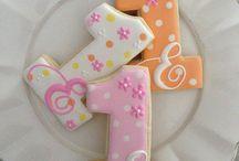 Icing cookies birthday / アイシングクッキーお誕生日