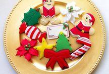Pack 1 de galletas de Navidad 2013-14 / Más información en mem@memcakesandcookies.com