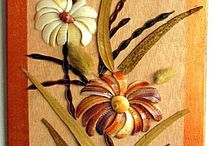 картины из сухоцветов