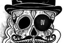 Τατουάζ sugar skull