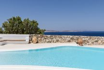 Magdalena - Mykonos / Located above Pouli area, Magdalena is a delightful semi-detached property with striking views of the Aegean sea, Delos island and sunset. It is set in a tranquil context, retaining its own spaces and privacy from the neighboring properties. For more details: http://www.mykonosvillas.com/our-villas/magdalena