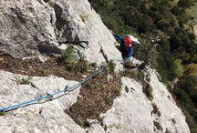 Climbing in south Italy / Arrampicata nel Parco del Pollino