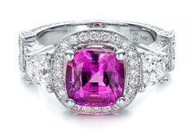 Sapphire Engagement Rings / I would love to win a phire Engagement Ring / by z. Smith