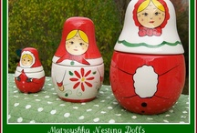 RUSSiAN STACKiNG D♡LLS!  / by Carolyn Perkovich