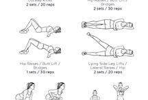 to do exercises