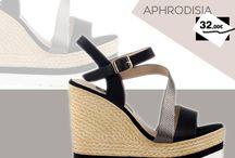 Aphrodisia 32,00€ || Γυναικεία Πλατφόρμα - Μαύρη
