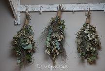 decoraties  wilde kruiden