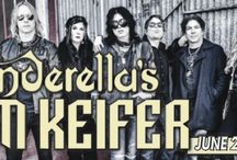 """CINDERELLA'S TOM KEIFER / Best known as the singer-songwriter and front man of rock band Cinderella, Tom Keifer will perform all the classic Cinderella hits, like heart wrenching ballad Don't Know What You Got 'til It's Gone, and current favorites, with his new band, who he refers to as """"The biggest bunch of badasses on the planet"""". Keifer, one of the most unique singers and accomplished musicians in Rock and Roll, will deliver a rockin' high energy show."""