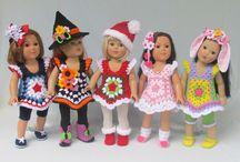 Muñecas y ropa