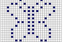 Boblemasker heklemønstre