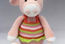 Cochon / pig crochet