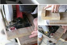 pomysły z drewna