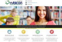 Academia Rubicón / Imágenes de los post que acompañan los artículos del blog de Academia Rubicón (www.academiarubicon.es), junto con breve texto explicativo.