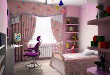 Комнаты для девочки подростка