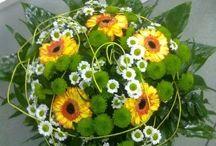 Živá květina / vázané nebo vypichované květiny