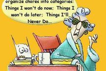 Humor - Maxine says what I think! / Maxine clips