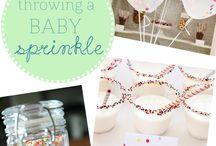 Gracie Jade's baby shower ideas