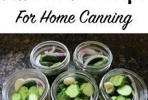 Canning/Gardening