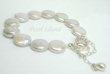 Pearl Bracelet, Freshwater Pearl Bracelets / Quality freshwater pearl bracelets - handmade in the UK - by Pearl Island: www.pearlisland.co.uk