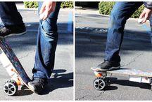 airwheel electric skateboard