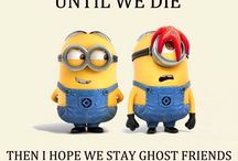 Minion's say it best / All about being a cute, naughty, evil minions