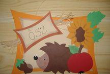Kindergarten autumn / Márton nap Őszi dekor