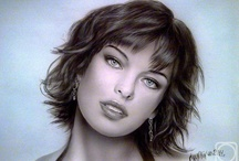 Airbrush portraits