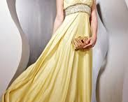 Variety of gowns and party wear cloths