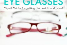 Eyeglasses ~ How to save money