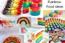 Rainbow party ideas / Isabella's 7th birthday