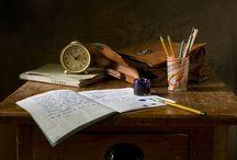 Ciekawostki / Tablica przedstawia różne ciekawe grafiki związane z edukacją