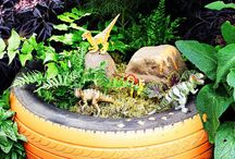 Gardening ideas for green fingered kids / Great ideas for getting kids out into the garden at home or in  the centre.