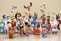3d karakters