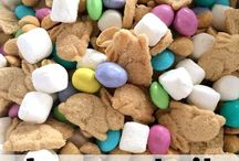 Bunny tail trail mix