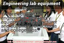 Engineering Lab Equipment supplier / Engineering colleges must be serious about quality of lab instrument. Because quality of instruments can provide best output during practical. So they should be aware while choosing the Engineering Lab Equipment supplier. Colleges should purchase from well reputed supplier who can give surety of quality.