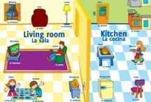 Games and Puzzles/Juegos y rompecabezas / by Growing Bilingual