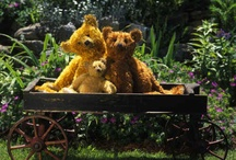 Bears...Ted E Bear  / Everything in life I share...except of course my Teddy Bear! / by Bobbie Jenkins